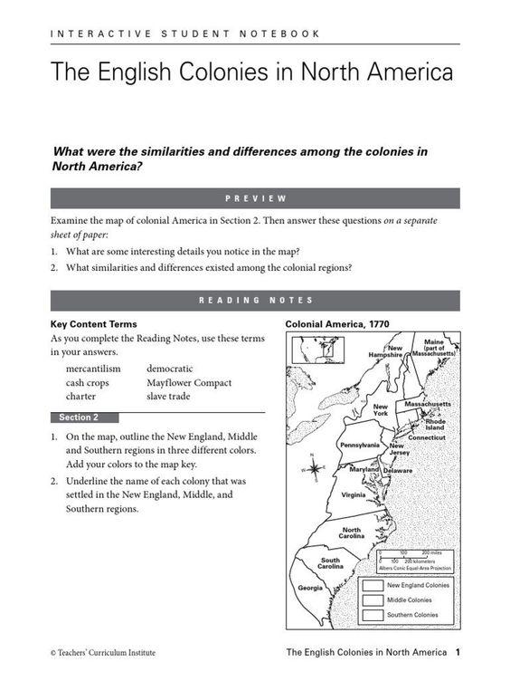Free Printable 13 Colonies Map 13 Colonies Map Social Studies Worksheets Thirteen Colonies