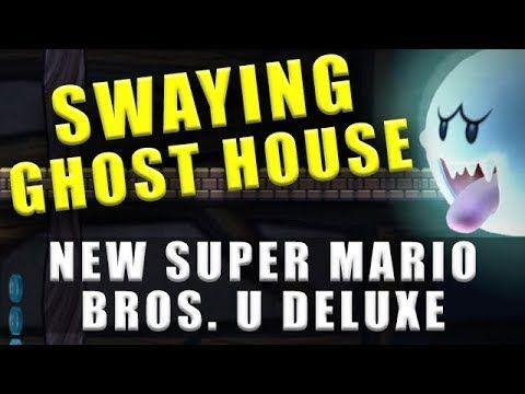 New Super Mario Bros U Deluxe Frosted Glacier Ghost House Secret Exit Super Mario Bros Mario Bros Super Mario