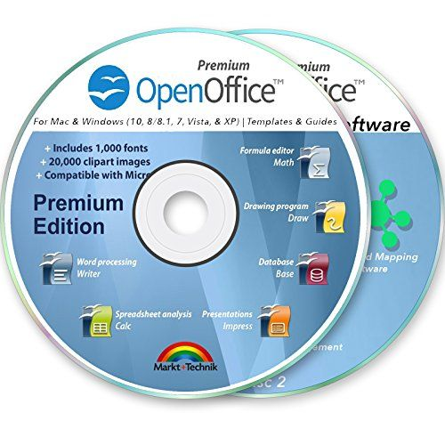 Office Suite 2019 Professional For Ms Windows Pc Mac Home Student Business Software Compatible With Microsoft Word Excel Disk 2 Dvd Set By Openoffice Business Software Mind Mapping Software Office Suite