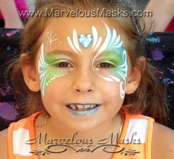 Maquillage princesse elsa - Modele maquillage princesse ...