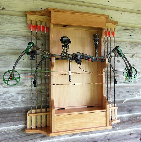 Archery, Cabinets and Bows on Pinterest