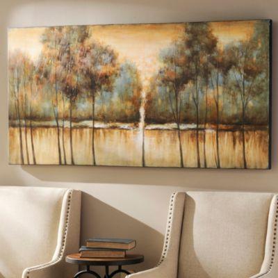Natural solitude canvas print basement family rooms for Kirkland living room ideas