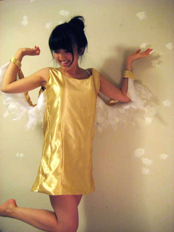 Coolest Homemade Golden Snitch Costume |Diy Golden Snitch Costume