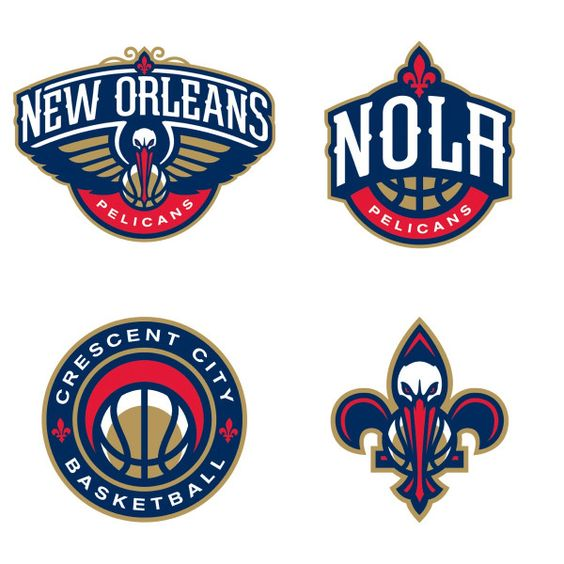 New Orleans Pelicans New Name Logo Previously Hornets
