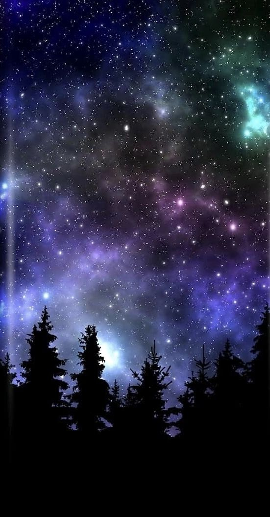 Galaksi Beautiful Night Sky Night Sky Wallpaper Night Sky Photography