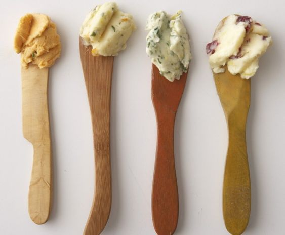 Make your own flavored butters.