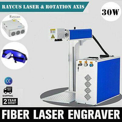 Ad Ebay Us Stock 30w Split Fiber Laser Marking Engraving Machine Including Ratory Cnc Wood Fiber Ebay
