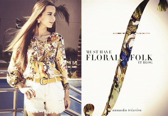 Look do Dia / Floral Folk
