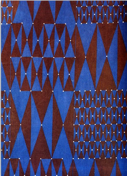 1963 fabric by Friedlinde de Colbertado Dinzl #inspiration #art