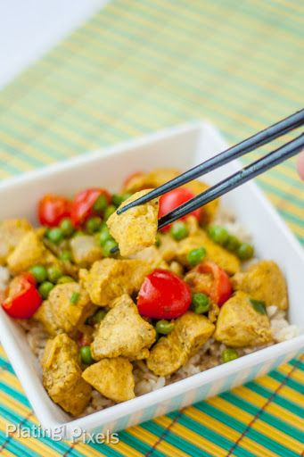 Thai Coconut Curry Chicken Recipe on Yummly