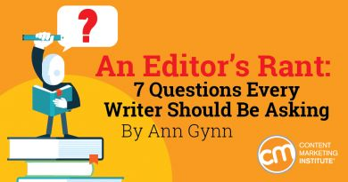 Questions every writer should be asking