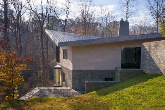 Трудно Выполнить Резиденция Роберт М. Герни архитектор (7)