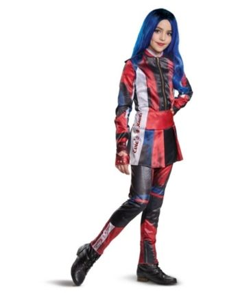 Buyseasons Girl S Descendants 3 Evie Deluxe Child Costume Red Halloween Niños Disfraces Disfraces Hallowen Chicas Disfraz Halloween Niña