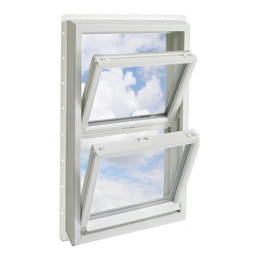 Crestline Quick Series Vinyl Double Hung Window White Interior White Exterior At Menards Crestline Reg Quick White Interior Double Hung Windows Interior