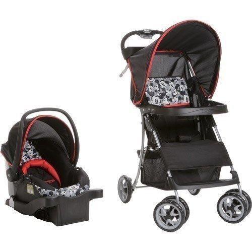 stroller car seat disney classic mickey mouse basket unisex baby shower gift for sale or. Black Bedroom Furniture Sets. Home Design Ideas