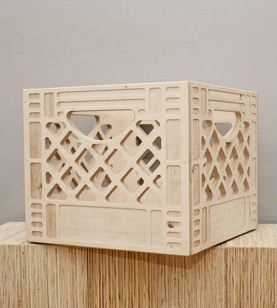 Pinterest the world s catalog of ideas for Decorating with milk crates