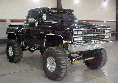 1986 Chevy Stepside...One day i will have a truck just like this!! *fingers crossed*