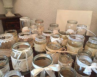 Vintage Dekoset Hochzeit Vasen Teelichter 30 Stuck In 2020 Vintage Hochzeit Deko Hochzeitstischdekoration Und Vintage Hochzeit