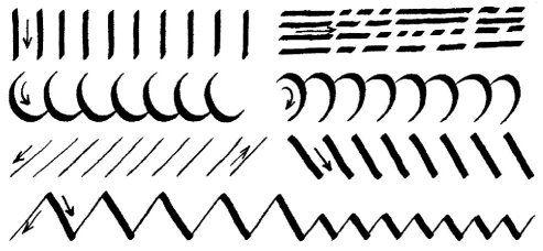 Calligraphy Tutorial - Practise Exercises