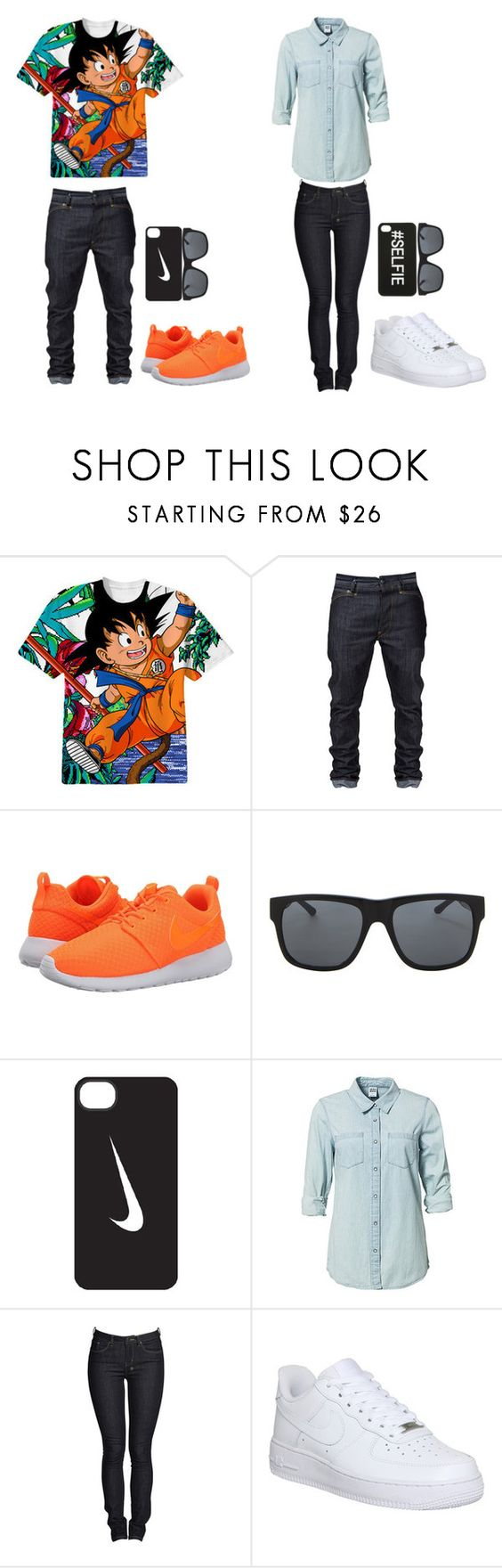 """""""Me and Bae #12"""" by typical-dresser ❤ liked on Polyvore featuring NIKE, Orlebar Brown, Vero Moda and Ksubi"""