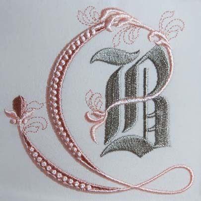 Fleur de Lis Alphabet- B