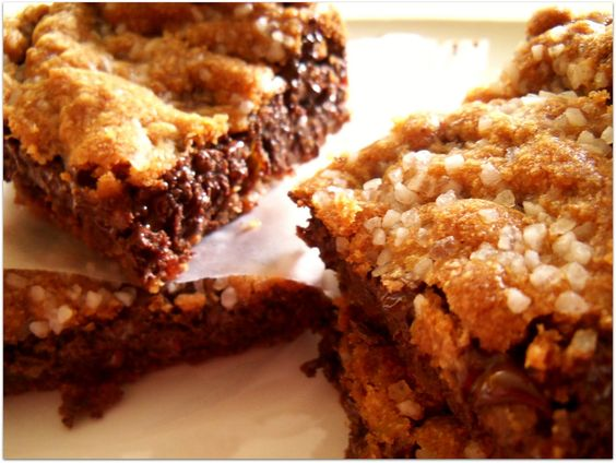 The Style Dossier: Fleur de Sel Blondies