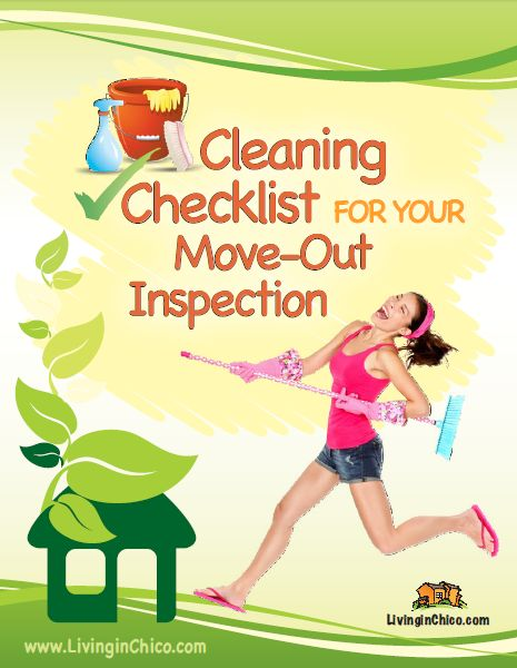 Apartment Cleaning Checklist For Move Out Day Apartmentcleaning ...