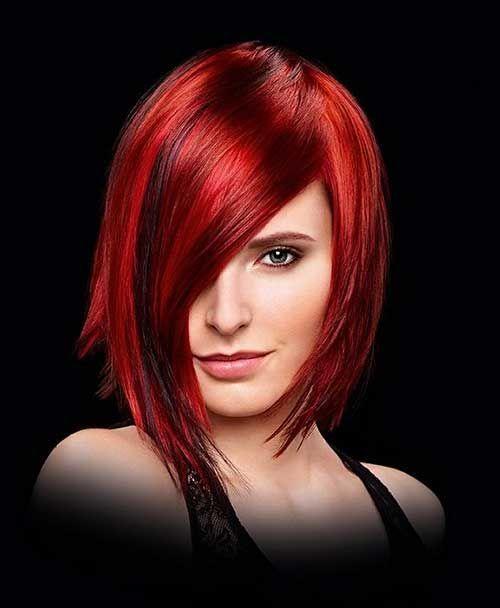 100 Medium Red Hairstyles For Women To Look Red Hot Hairstyles Hot Medium Red Underlig In 2020 Frisur Rote Haare Frisur Rot Haarschnitt