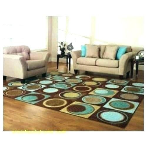 Teal And Orange Area Rugs With Images Turquoise Living Room