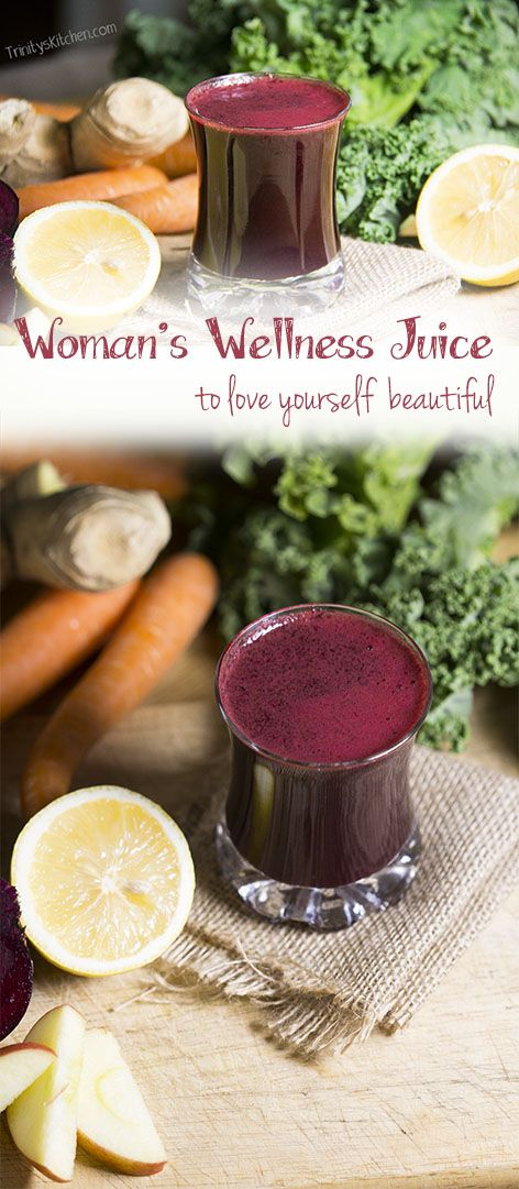 Woman's Wellness Juice - to love yourself beautiful!