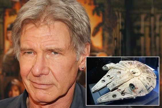 Harrison Ford could miss eight weeks filming of Star Wars movie after breaking ankle - Mirror Online