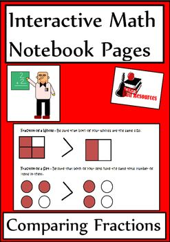 Just released - comparing fractions lesson for your interactive math notebook. Two references pages and a reflection page with five options and a self check rubric for just $1.25.