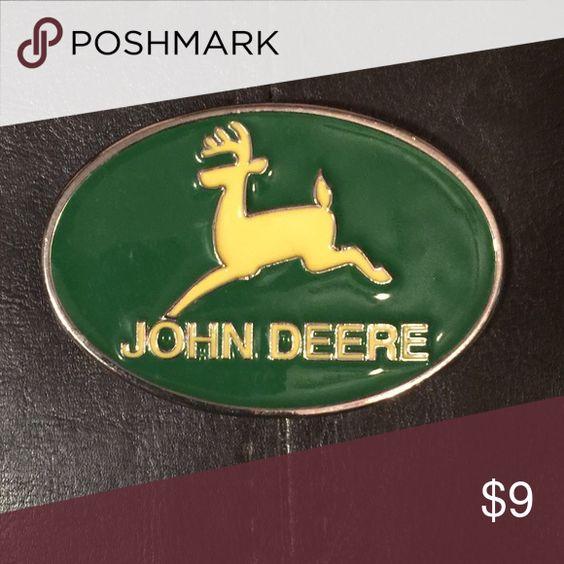 John Deere belt buckle John Deere belt buckle Accessories Belts