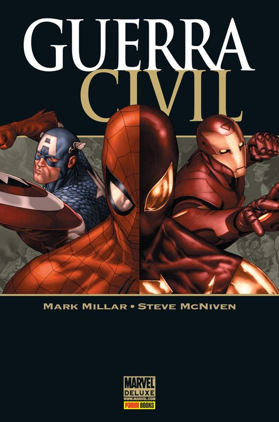 Guerra Civil - Marvel Deluxe - MonsterBrain