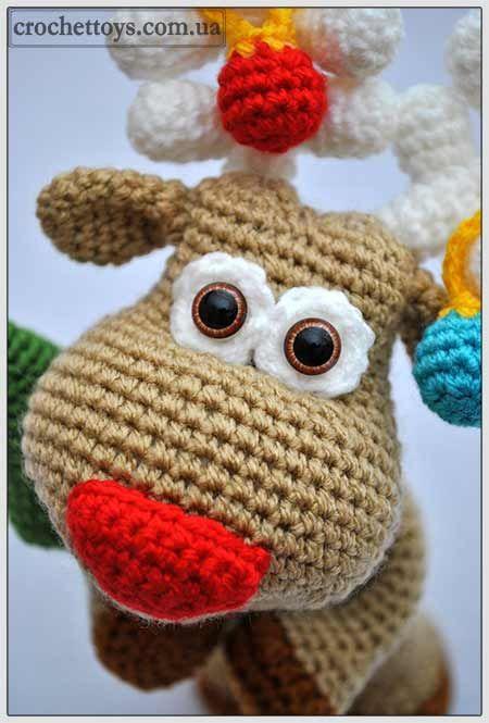 Christmas Reindeer Amigurumi : Amigurumi Christmas 4U hilariafina http://www.pinterest ...