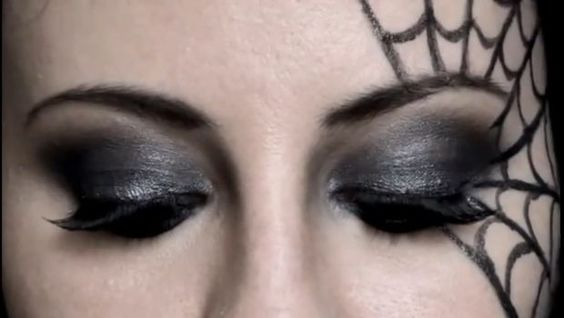 Make up - Halloween - cobweb