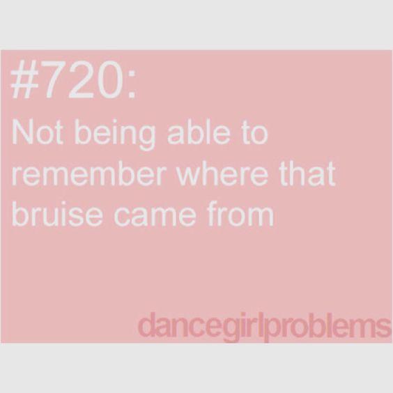 Dance Problems...