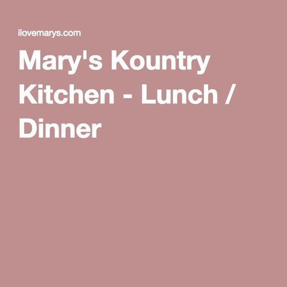 Tavarres Florida Mary's Kountry Kitchen - Lunch / Dinner