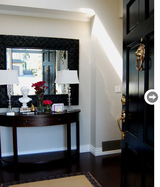Revere Pewter Foyer Colors And Foyers On Pinterest