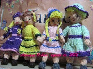 AMIGURUMIS AMOROSOS: MUÑECAS, todas mis muñequitas,