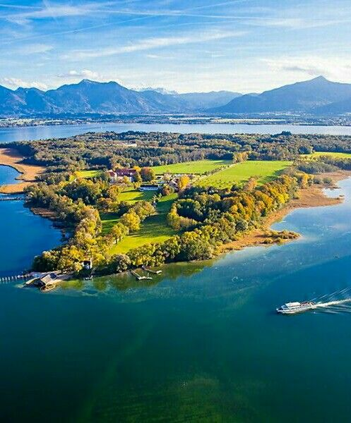 Lake Chiemsee Bavaria Germany With Images Beautiful Travel Destinations Places To Visit Germany Travel