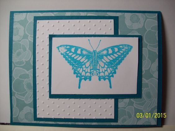 I made this to give to a lady at church to give to her sick friend whose favorite color is blue.  this is 4 of 4
