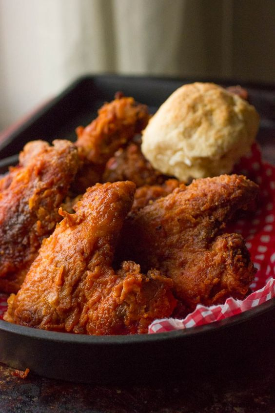 Tennesse Hot Fried Chicken- Spicy, crunchy, and super moist, is one of the best Fried Chicken recipes ever!