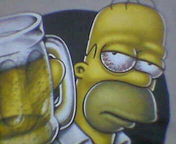 Homero hebrio!!!