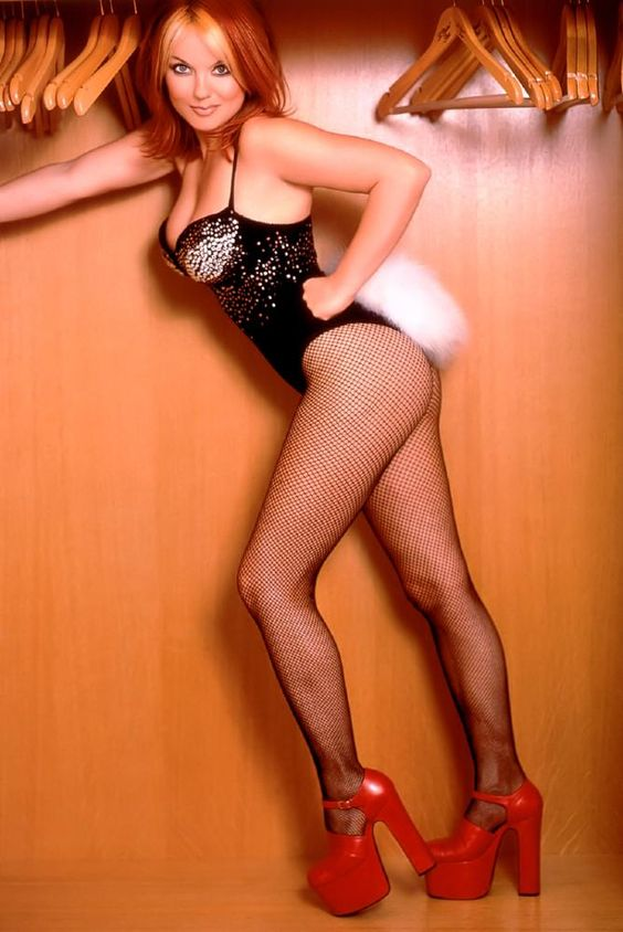 Geri Halliwell in fishnets, thus just makes me feel old.