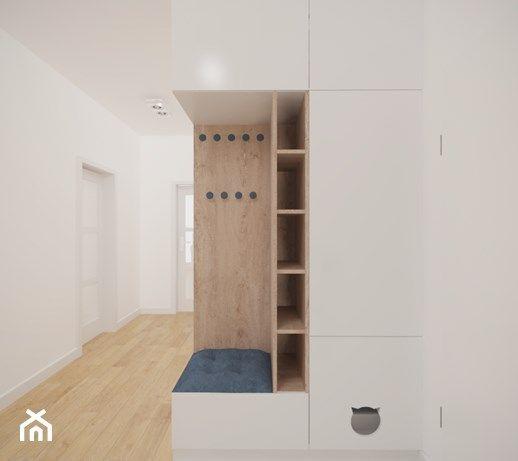 Nice Wardrobe And Seating Combo In This Bright Entrance Area Hubscher Schrank Mit Sitzgelegenheit I Furniture Design Living Room Furniture Hallway Furniture