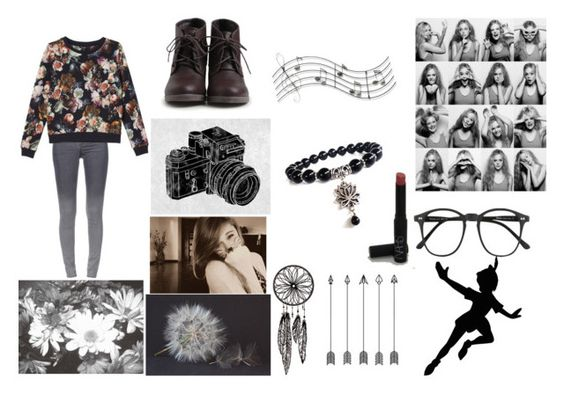 """""""Young♥"""" by directionerjolie ❤ liked on Polyvore featuring Music Notes, Illesteva, GE, STELLA McCARTNEY, Monki, NARS Cosmetics, women's clothing, women's fashion, women and female"""