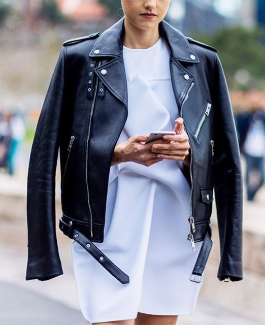 Not one article of clothing defines cool more than aleather jacket. The seasonless hero piece ingeniously topstees, harmonizes with denim and toughens up feminine pieces. These are the BEST to buy now and wear forever.