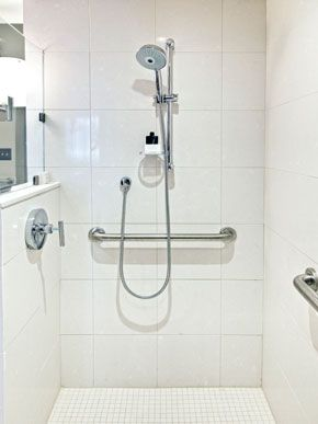 Grab Bars In The Shower Prevent Slips And Provide Extra Support For Children And Seniors All