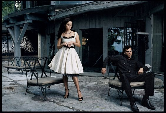 Reese & Joaquin by Annie Leibovitz for Vogue, November 2005